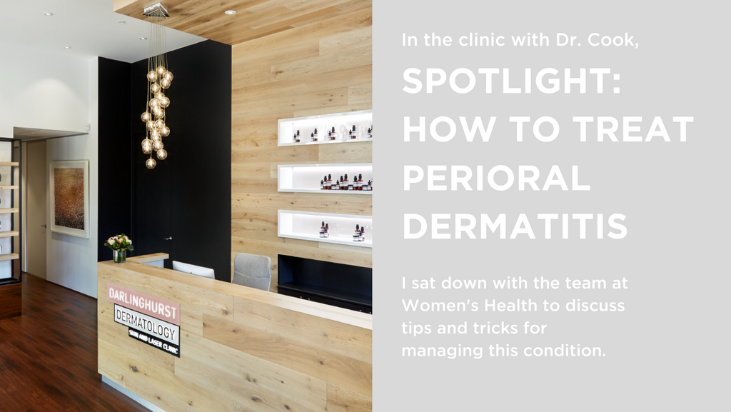 What is perioral dermatitis and how do I get rid of it?