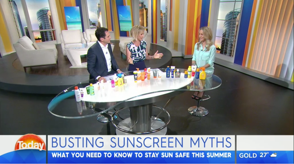 The Today Show - Busting Sunscreen Myths