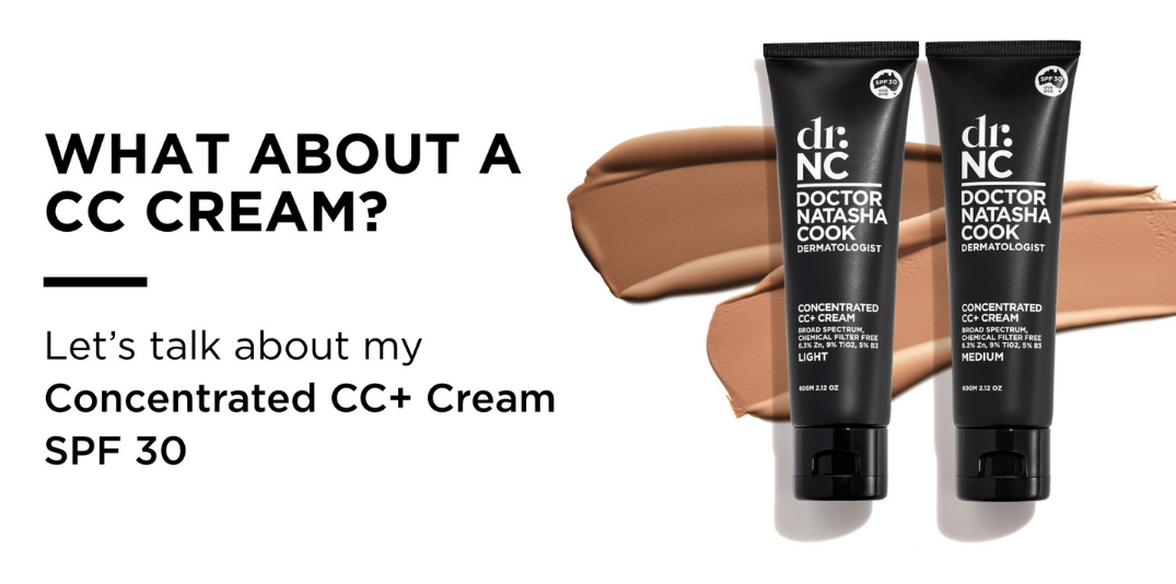 What about a CC Cream? lets talk about my concentrated CC+ cream SPF30