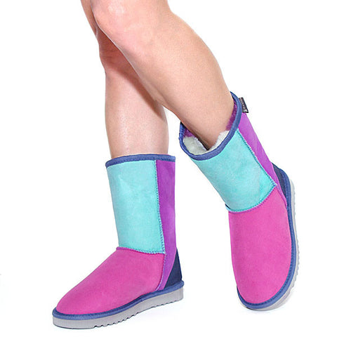 Patchwork Ugg Boots