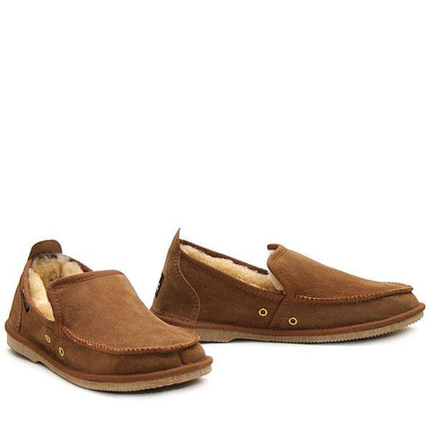 Sheepskin Loafer Chestnut