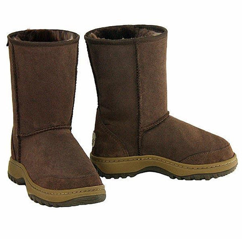 Offroader Short Ugg Boots - Chocolate