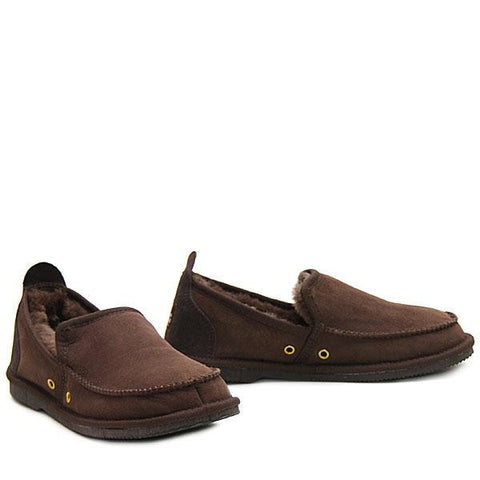 Sheepskin Loafer Chocolate