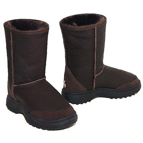 Offroader Bomber Short Ugg Boots - Chocolate