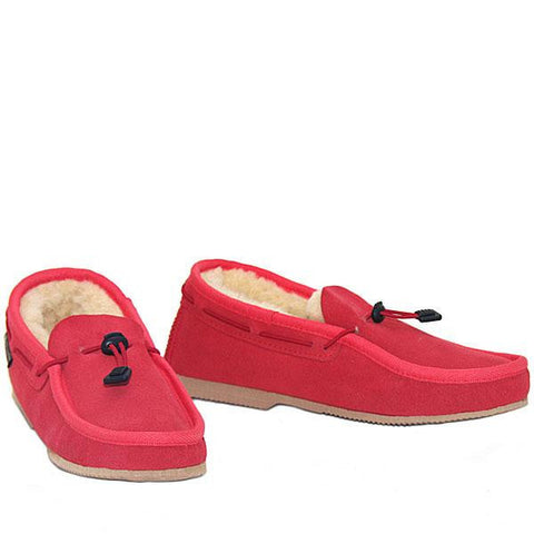 Cord Slip-on Loafer Strawberry
