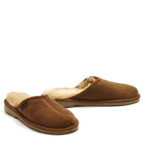 Ridge Comfort Scuffs Chestnut