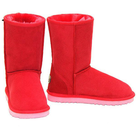Deluxe Classic Short Ugg Boots - Strawberry
