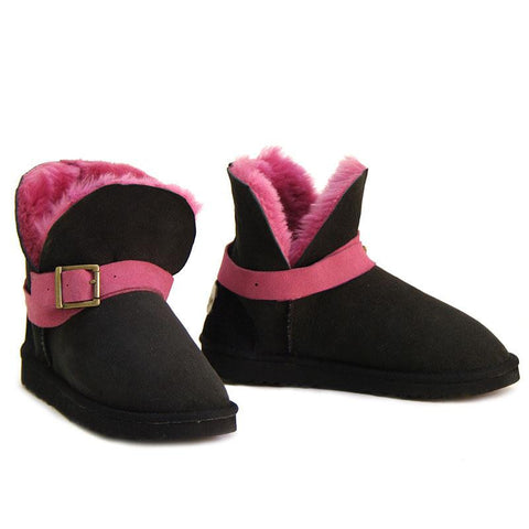 Cutesy Mini Ugg Boots - Grape