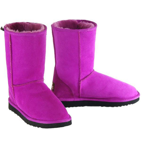 Deluxe Classic Short Ugg Boots Fuchsia