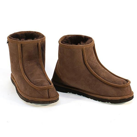 Deluxe Alpine Short Ugg Boots - Chocolate