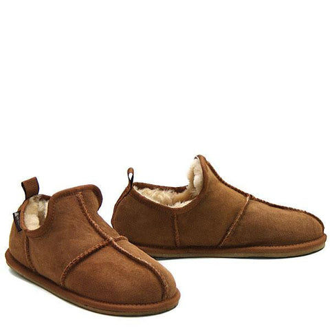 Flexo Sheepskin Slipper - Chestnut