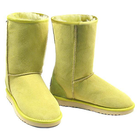 Deluxe Classic Short Ugg Boots - Lime
