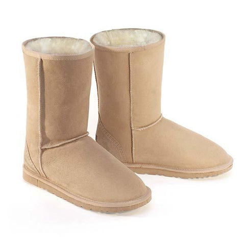 Deluxe Classic Short Ugg Boots - Sand
