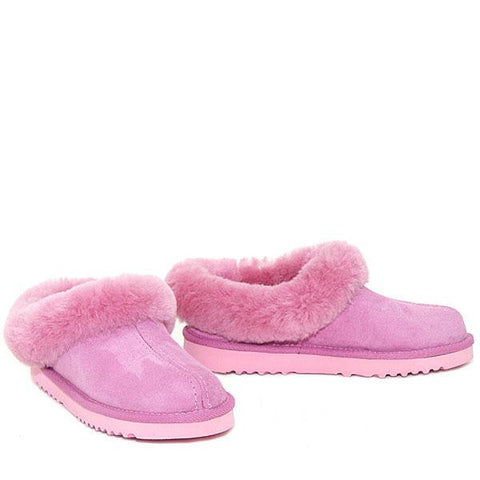 Lux Mule Slippers - Candy Pink