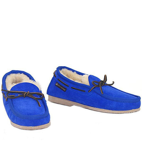 Deck Slip-on Loafer Cobalt