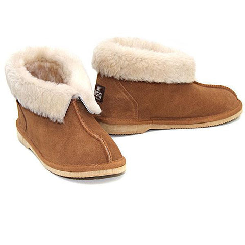 Aussie Slippers - Chestnut