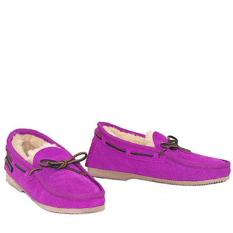 Deck Slip-on Loafer Fuchsia