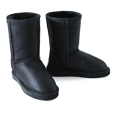 Classic Short Bomber Ugg Boots - Black