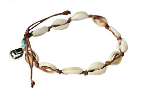 Salty Days Cowrie Anklet