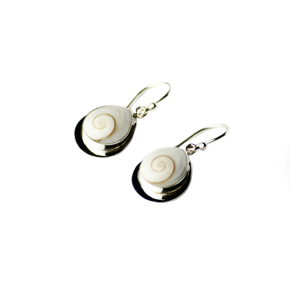 Taj Shiva Shell Earrings