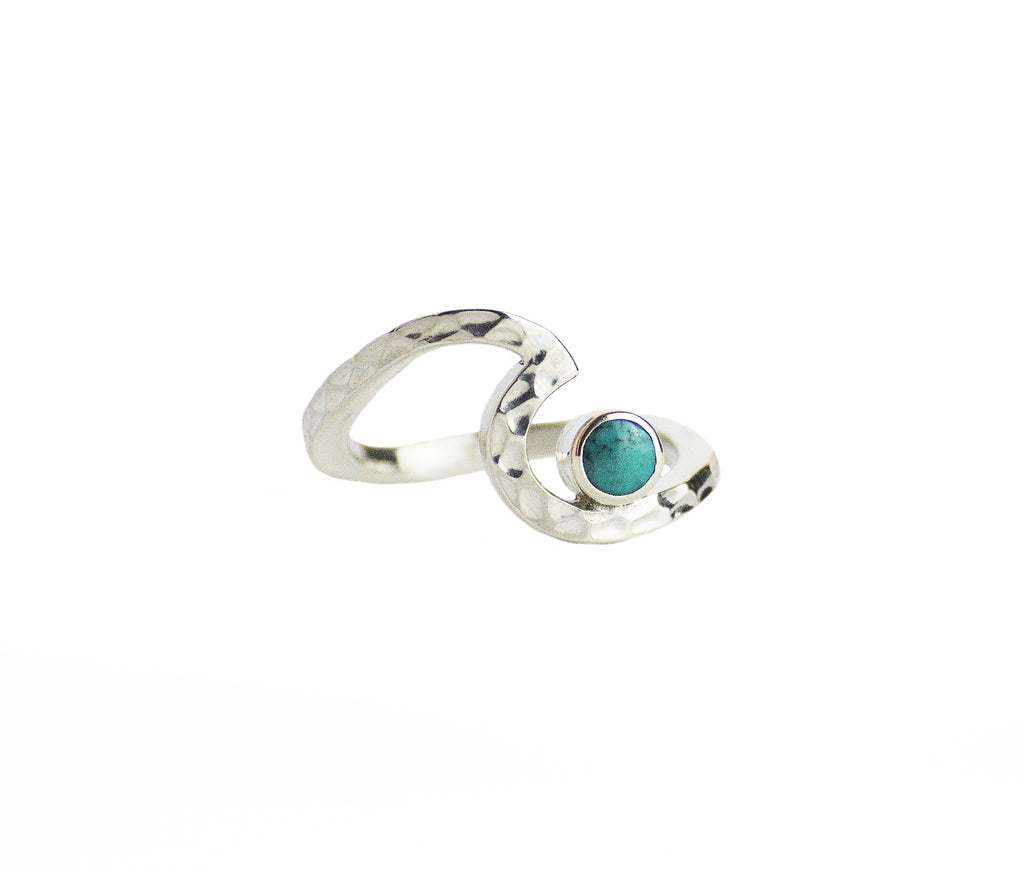 The Pass Turquoise Wave Ring
