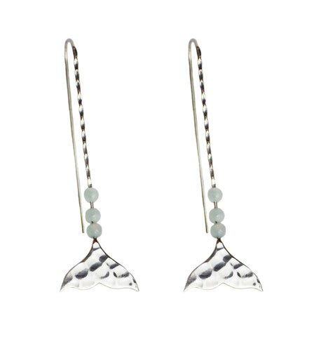 Atlantis Mermaid Tail Earrings