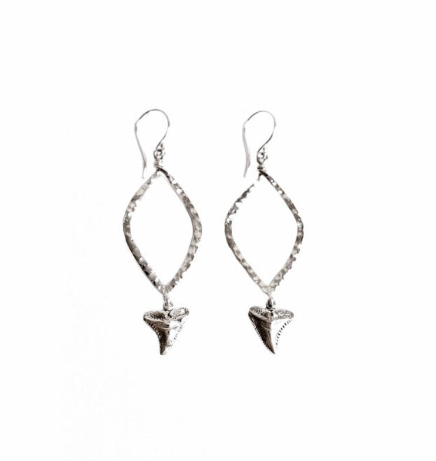 Cinta Hui Shark Earrings