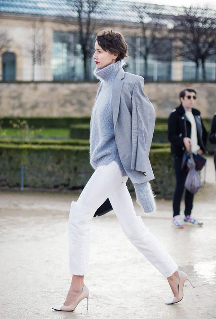 How To Wear Winter Greys