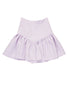 Linen Drop Frill Mini Skirt