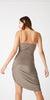 Twisted Slip Dress - Putty