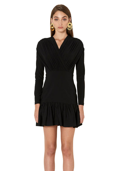 29cae80f9650 The Alex Cross Front Mini Dress - Black · By Johnny