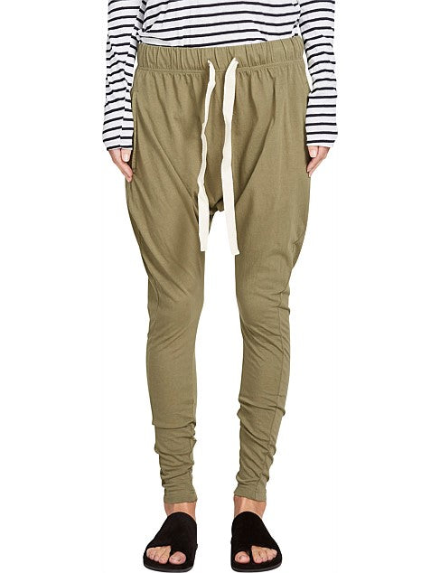 Slouch Jersey Pant III - Washed Khaki