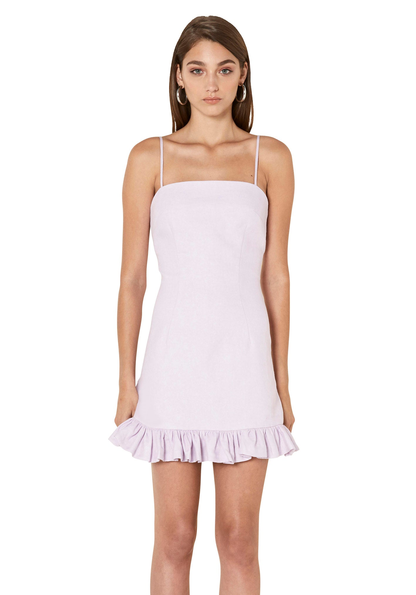 April Frill Mini Dress