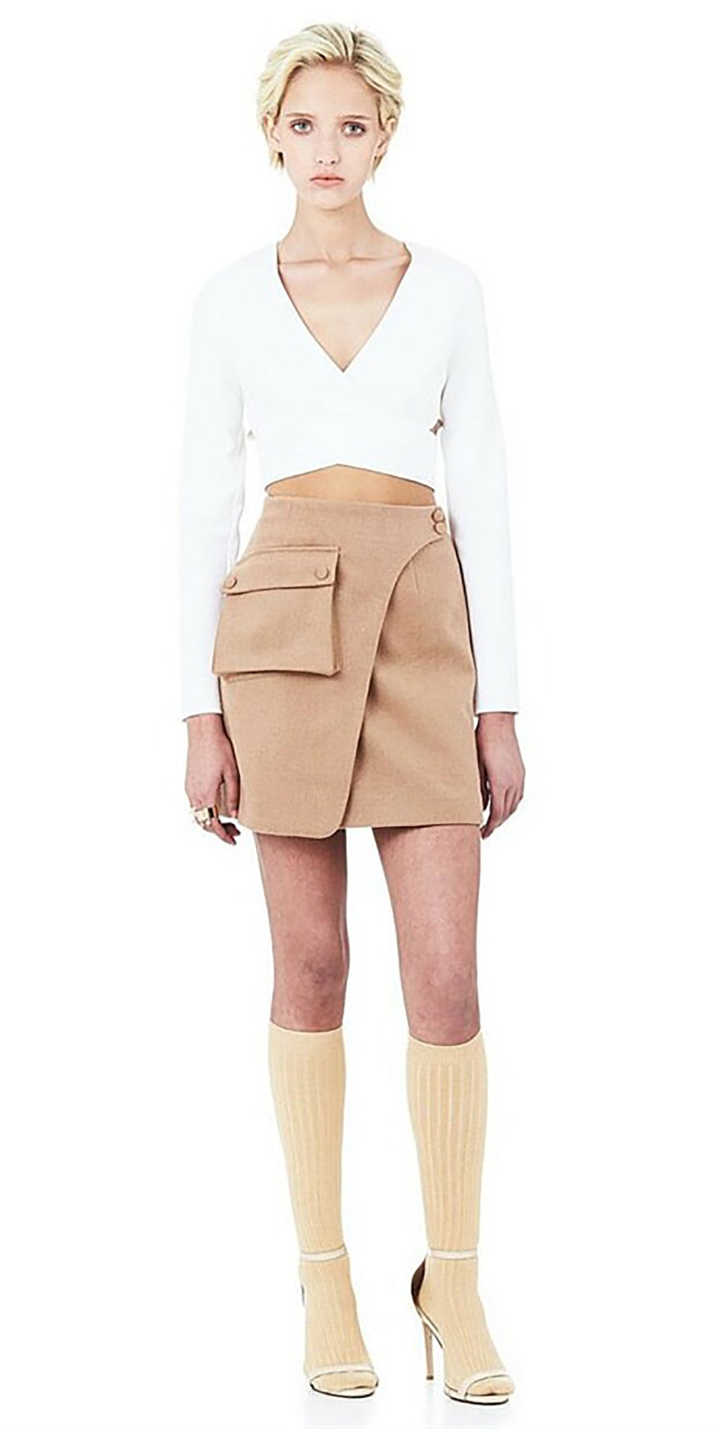 Wanderer Mini Skirt - Camel