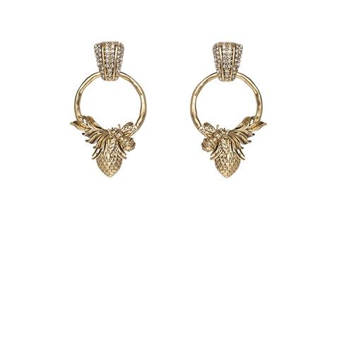 Abeja Earrings - Gold