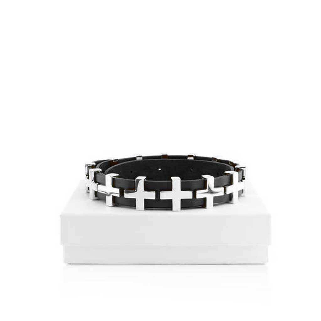 The Dylan Statement Belt - Silver