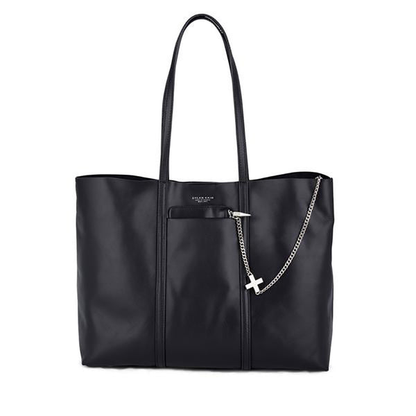 The Evangelista Tote - Silver