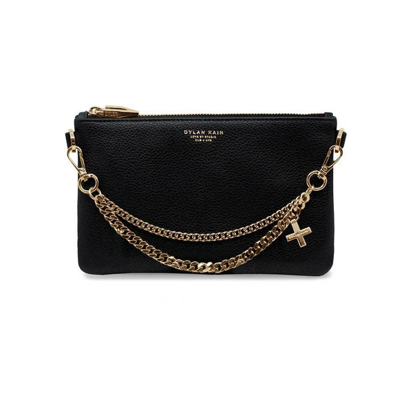 The Lipa Chain Pouch - Light Gold
