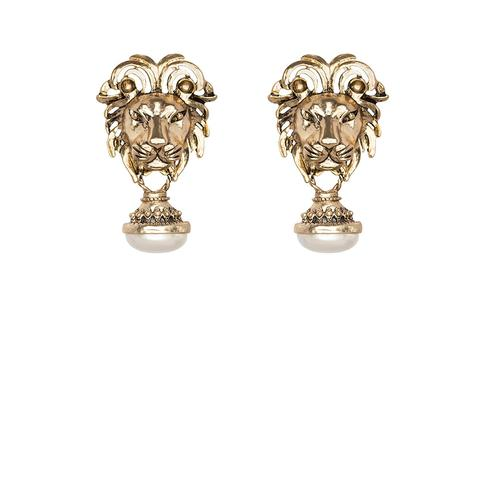 Panthera Earring - Gold