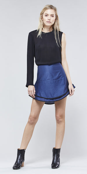 Beckman Mini Skirt - Midnight