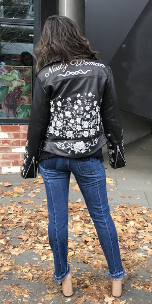 Rebel Muse X Asilio: Nasty Woman Leather Jacket