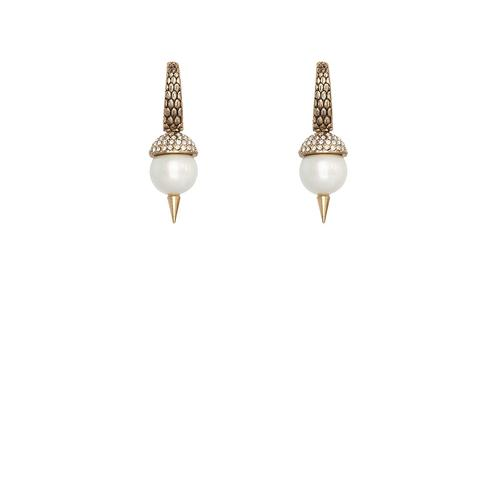 Serpents Earring - Gold