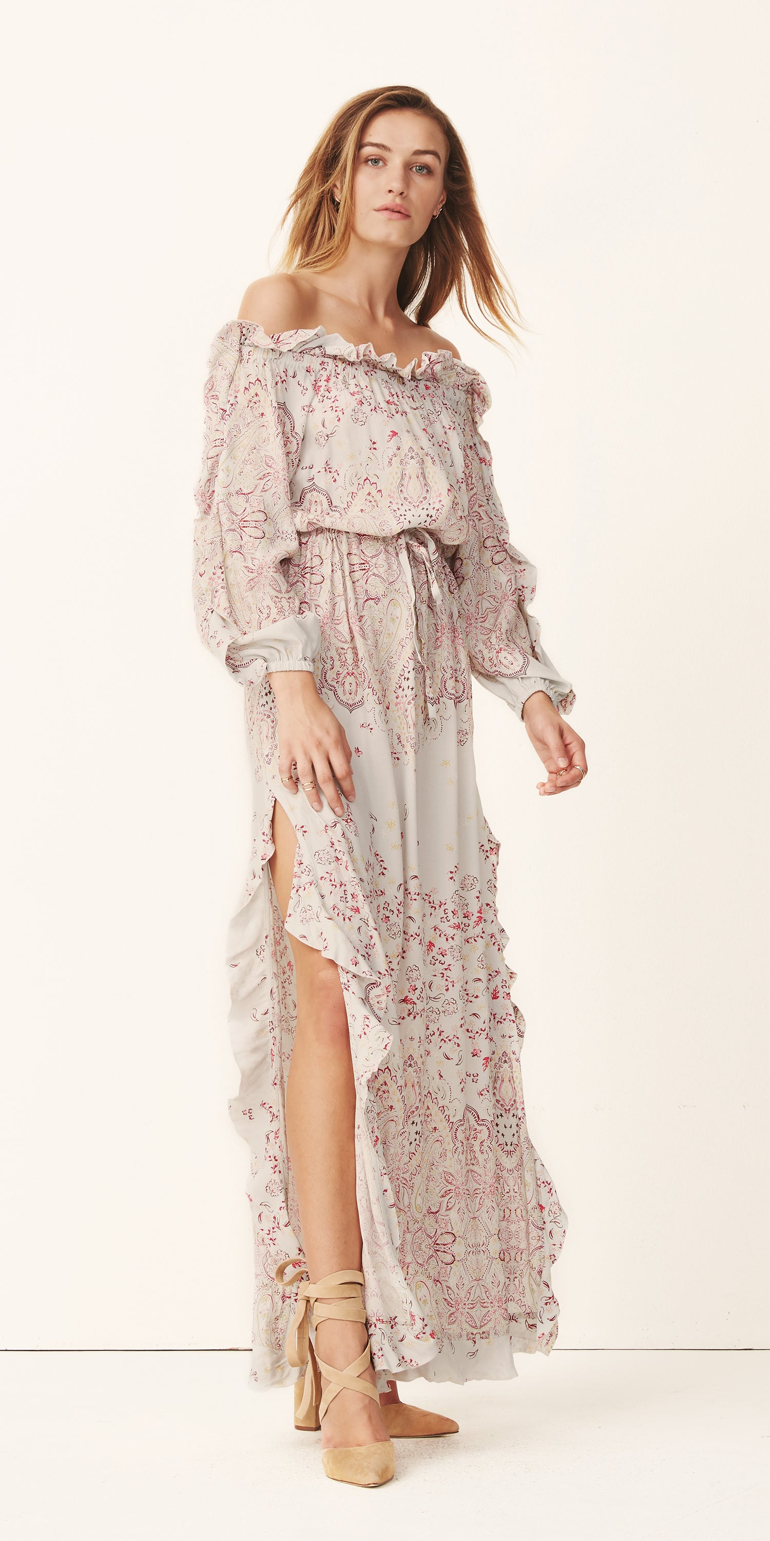 Marigold Long Sleeve Dress