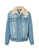 Classic Denim Jacket - Blue/Silver