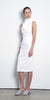 Maiko Cross Back Dress - White