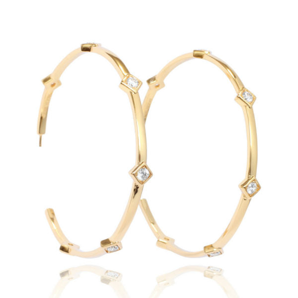 Lady Luck Hoops - Gold