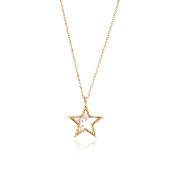 Rising Star Necklace - Gold
