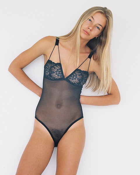 Maeve Bodysuit - Black