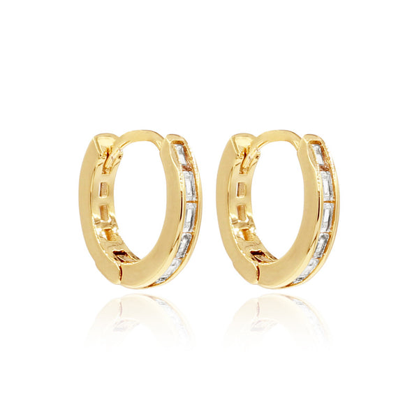 Bliss Hoops - Gold