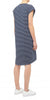Organic Drape Dress - Navy/White